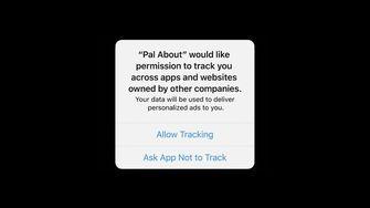 iOS 14 tracking melding