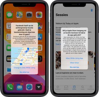 iOS 13 locatie volgen 001