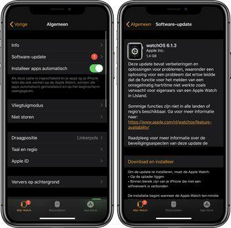 Apple Watch watchOS 6.1.3 update 001