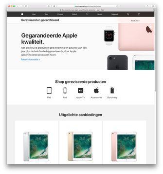 Apple Refurbished Store