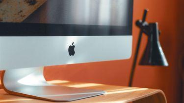 iMac op bureau 16x9
