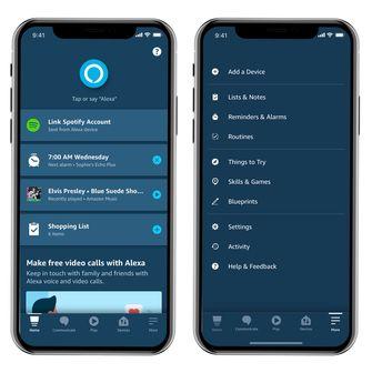 Amazon Alexa App iOS
