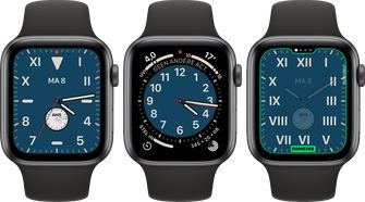 Apple Watch watchOS 6 Californie wijzerplaat 001