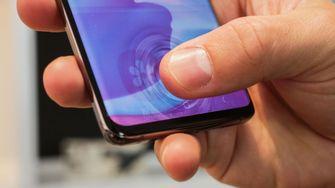 Samsung Galaxy S10e Vingerafdrukscanner