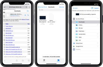 iOS 13 bestanden app lokaal