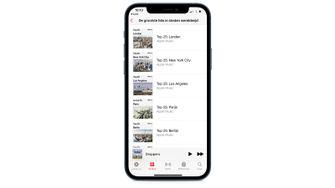 Apple Music steden