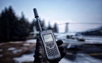 Iridium satelliettelefoon