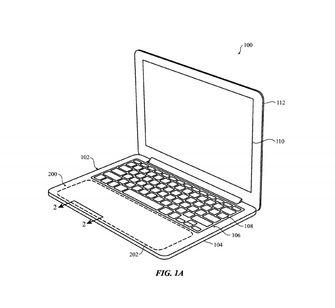 Apple MacBook touchpad