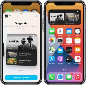 iOS 14 beta 4 Apple TV widget 001
