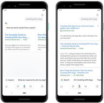 Google Assistant ads voor en na 001