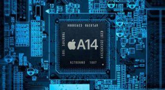 Apple A14 chip van TSMC op 5nm?