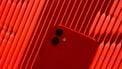 Rode iPhone 11 achterkant