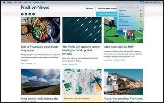 Plash macOS App website als wallpaper