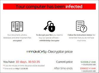 De nieuwe REvil ransomware pagina voor Quanta