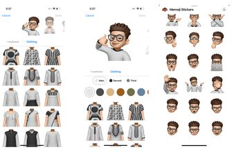 Memoji outfit 1 iOS 15 beta