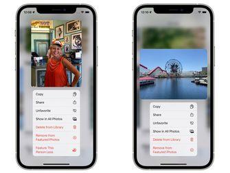 iOS 15 foto-app