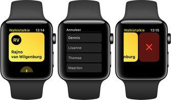 apple watch watchos 5 walkietalkie 2
