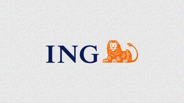 ING logo met ruis
