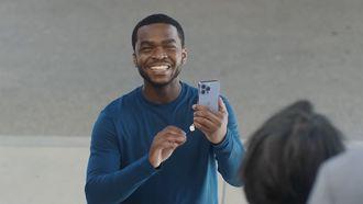 iPhone 13 Pro lifestyle smile