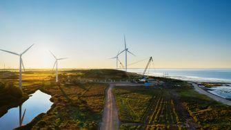 Windmolenpark Esbjerg