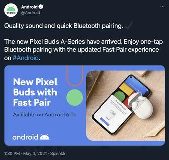 Pixel Buds A AirPods Alternatief