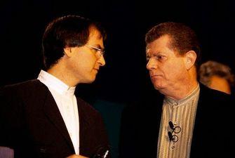 Gil Amelio Steve Jobs