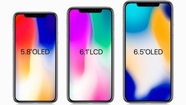 Overzicht iPhone 2018 modellen