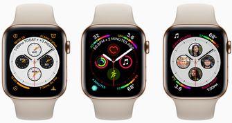 Apple Watch Series 4 infograaf wijzerplaat