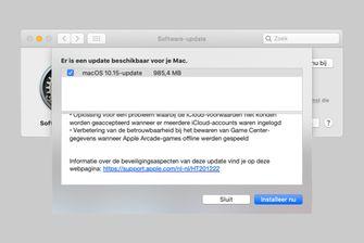 macOS 10.15 Catalina update
