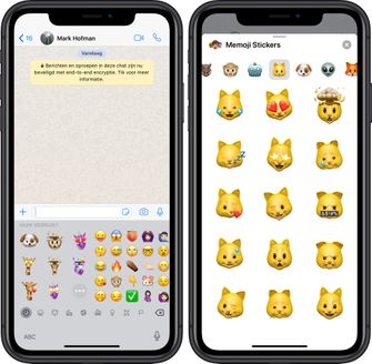 animoji memoji stickers ios 13 whatsapp