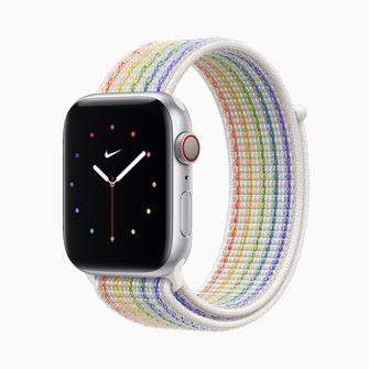 Apple Watch Pride Edition van Nike
