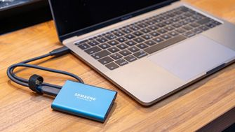 Samsung SSD T5 16x9
