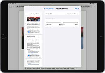 iOS 15 en iPadOS 15 nieuwe opties voor afdrukken screenshot 2