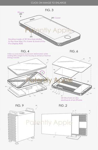 Mac Pro iPhone patent