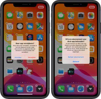 iOS 13 waarschuwing abonnement 001