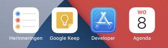 Agenda icoon iOS 14