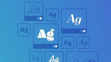 Adobe gratis fonts iOS 13 16x9