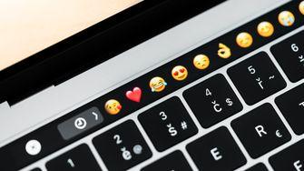 emoji macbook pro touch bar 16x9