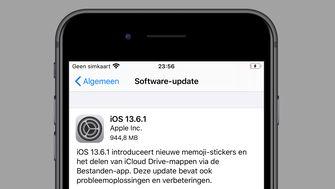 iOS 13.6.1 update