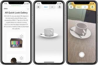 Apple AR Quick Look USDZ