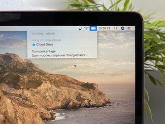 MacBook Air 2020 review - batterij