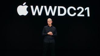 Tim Cook WWDC21 iOS 15