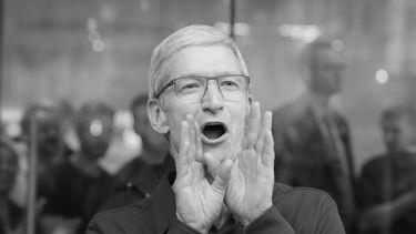 Apple Tim Cook booh