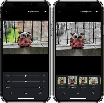 Google Foto's iOS