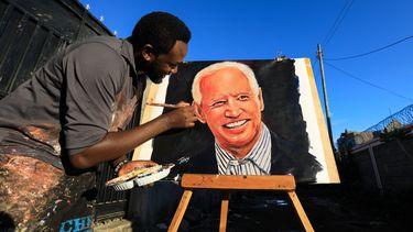 Joe Biden schildering
