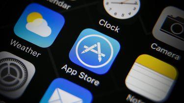 De App Store op een iOS-device