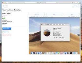 Zeromac Mac in de cloud