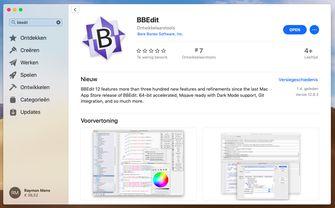 bbedit mac app store screenshot