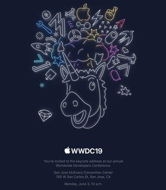 WWDC 2019 uitnodigingen 001