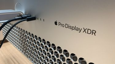 Apple Pro DIsplay XDR achterkant